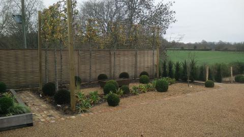 Our Wadhurst landscaping project.